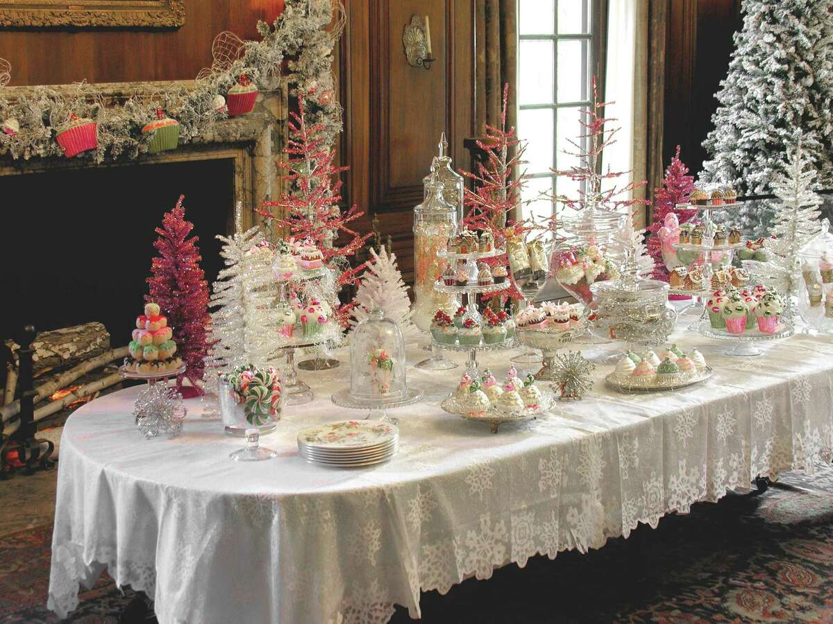 The Filoli mansion in California gets decorated lavishly for the annual Holiday Traditions, a multi-day open house.