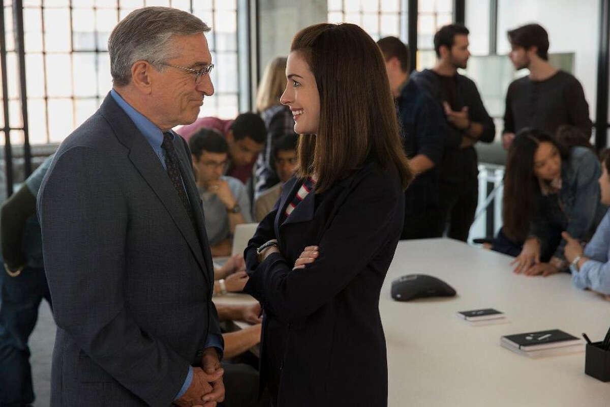 Robert De Niro and Anne Hathaway in