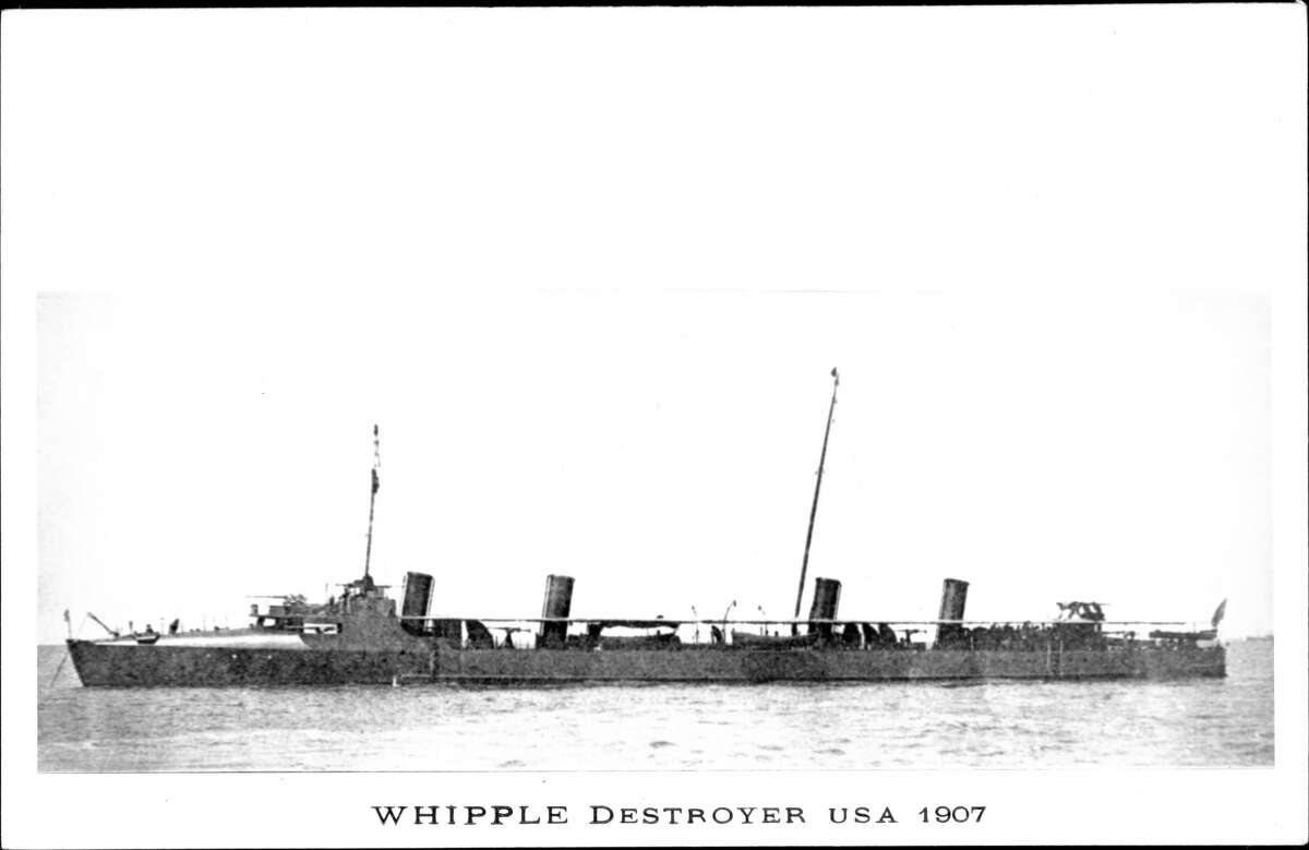 Truxtun class Years active: 1899 - 1919Pictured above: United States Navy Battleship Destroyer USS Whipple at sea, ca. 1907.