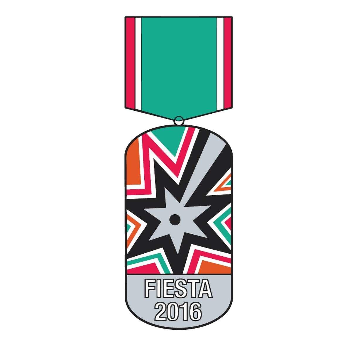 San Antonio Spurs Fiesta Medal design for 2016, by Ryan Cano