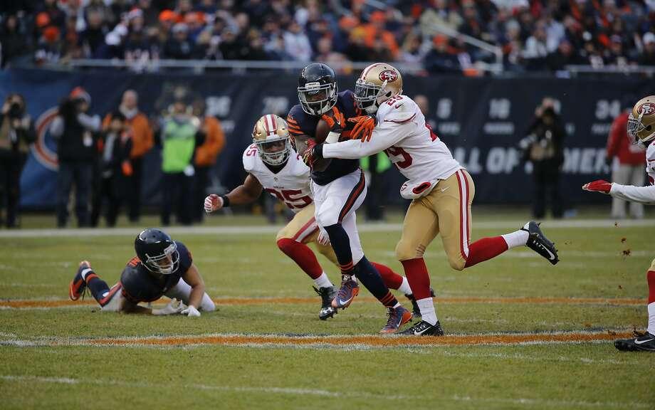 NFL Jerseys Sale - 49ers' defense: not damn good, but improving - SFGate