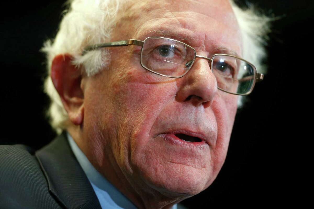 Democratic presidential candidate Sen. Bernie Sanders fares  favorably in Google searches.