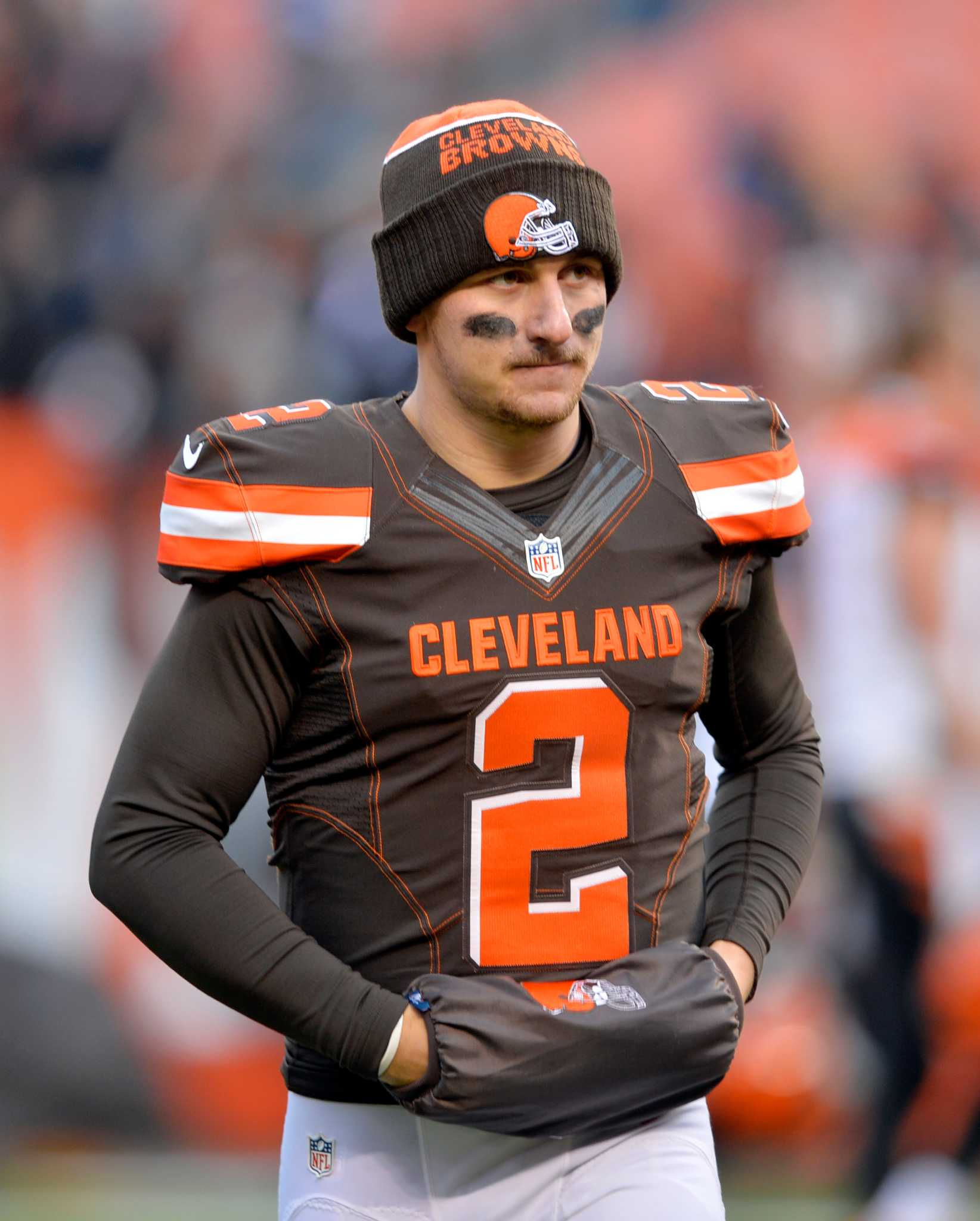 b0ffc7c8c4d Johnny Benched again Johnny Starter. Browns call on Manziel after QB lost  his job due to off-field antics