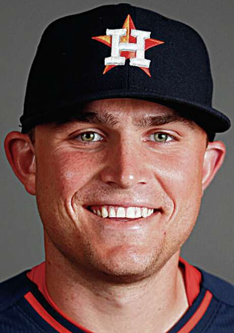 Houston Astros catcher Max Stassi photographed during Houston Astros spring training at the Osceola County facility, Thursday, Feb. 26, 2015, in Kissimmee. ( Karen Warren / Houston Chronicle  ) Photo: Karen Warren, Staff / © 2015 Houston Chronicle