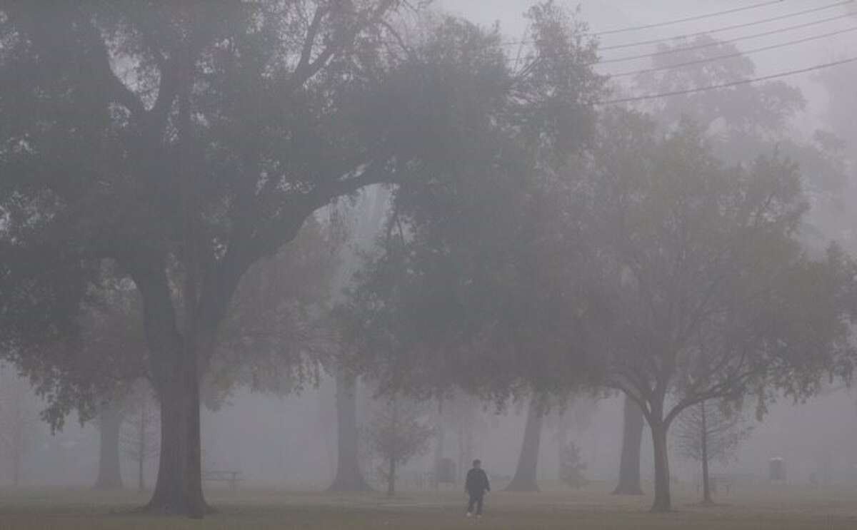 For the third morning in a row, Houston commuters woke up to a dense December fog on Wednesday, Dec. 9, 2015.