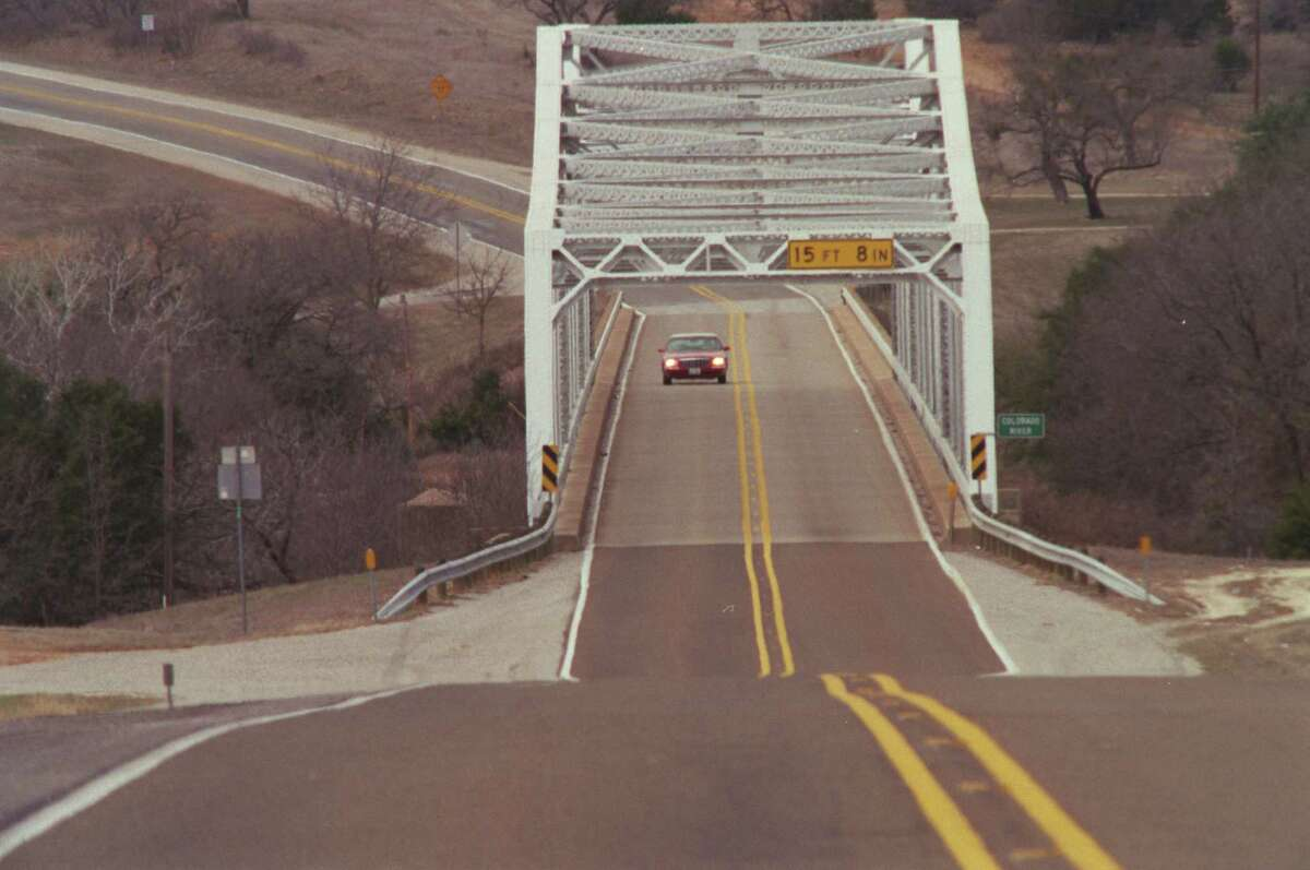 U.S. 190 as it spans the Colorado river between San Saba and Lampasas, seen here in 2000, could become Interstate 14 as soon as numerous improvements along the highway are completed and the road is dedicated and brought up to interstate standards. Take a look at the impact of the 25 most congested freeways in Texas.