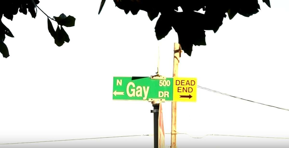 Gay Drive is a dead end.