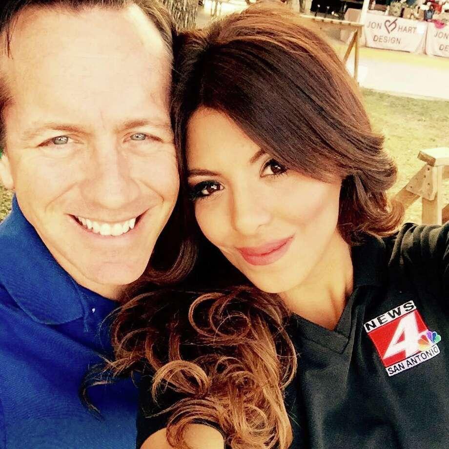 WOAI-TV's news couple - San Antonio Express-News