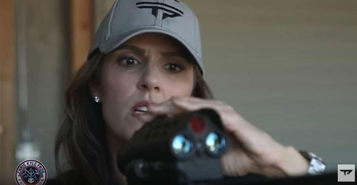 Taya Kyle won the inaugural American Sniper Shootout using guns with TrackingPoint technology.