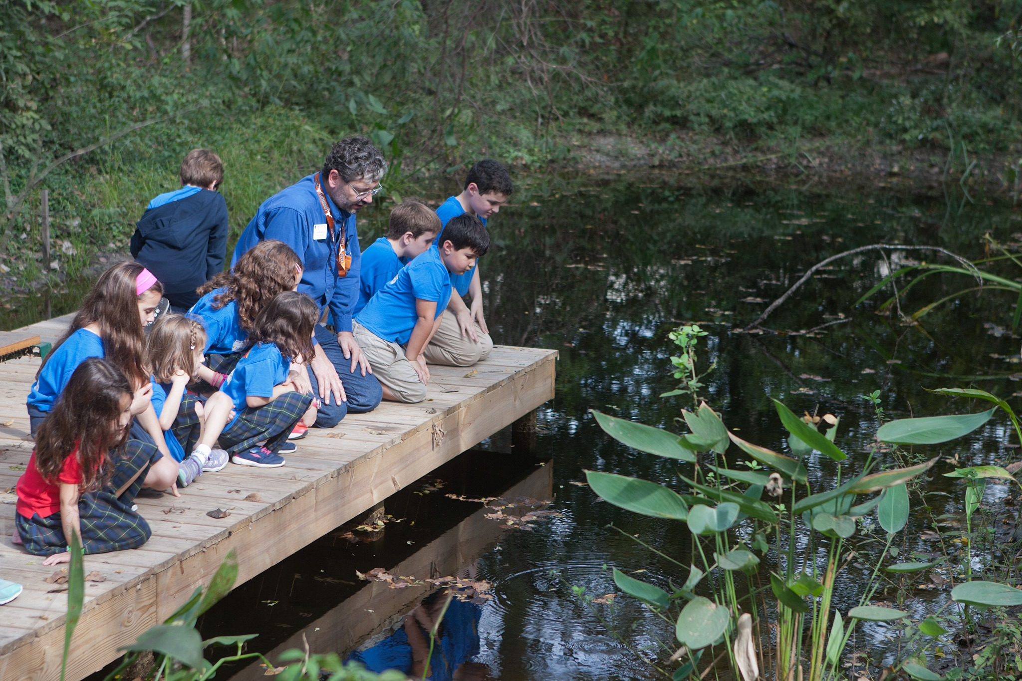 meyerland preserve helps local children learn about nature