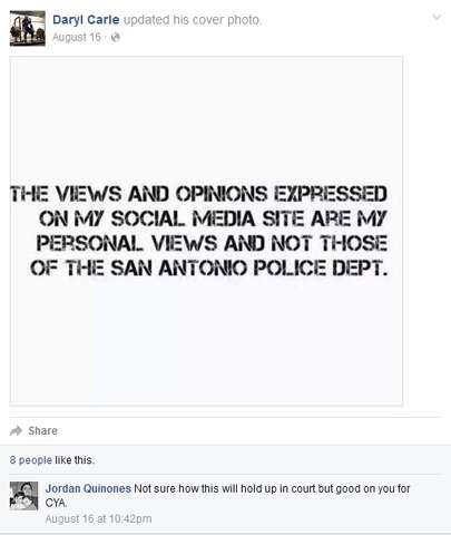 SAPD officer suspended for 'want to kill people and not go to jail