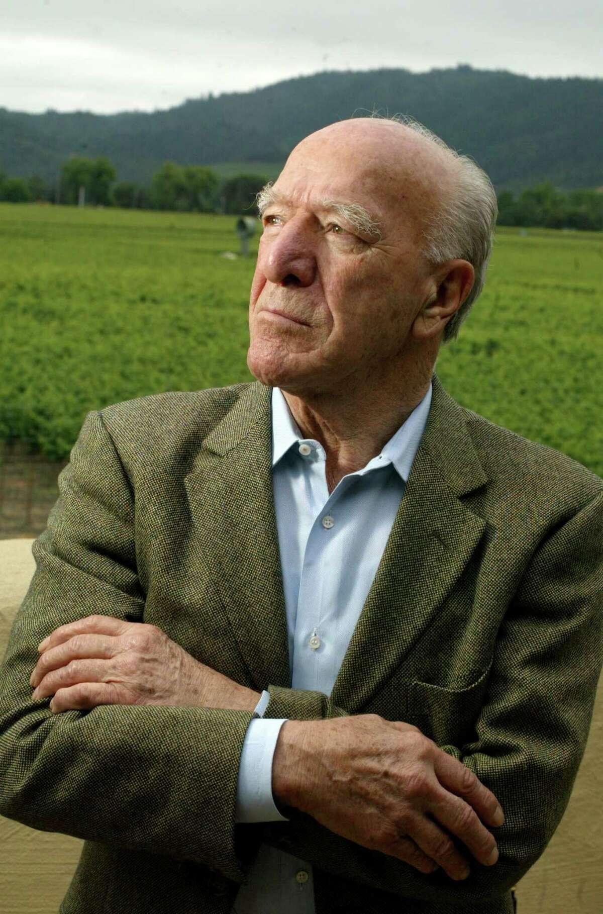 Robert Mondavi in 2003