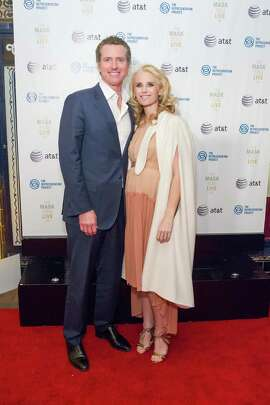 Gavin Newsom and Jennifer Siebel Newsom