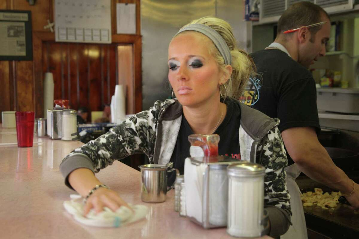 A server at Tom and Joe's, Altoona, PA