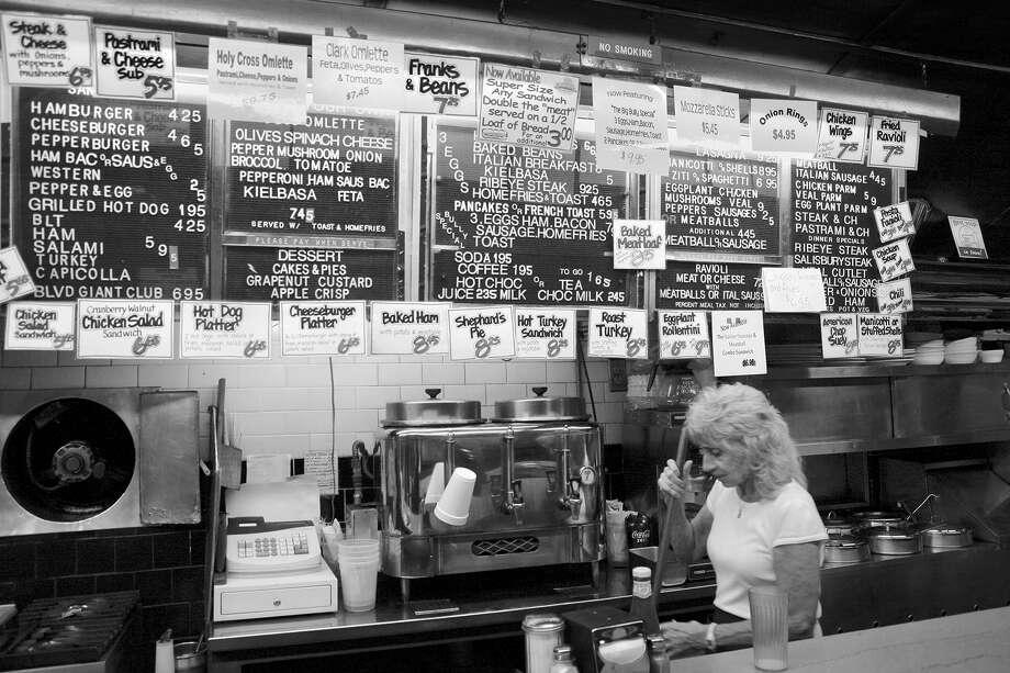 Boulevard Diner, Worcester, MA, 2010 Photo: Chuck Fong