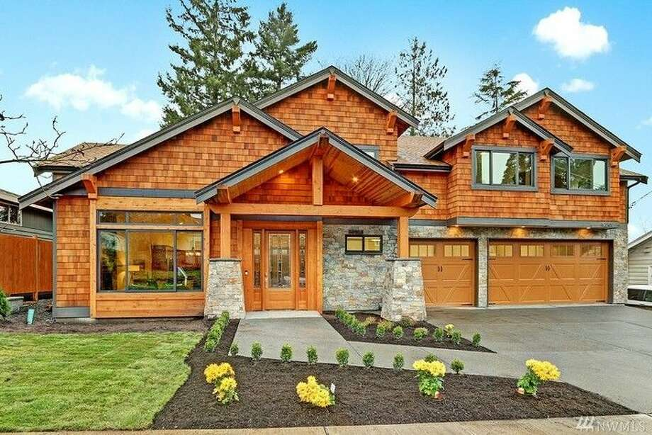 This home, 9209 8th Ave. N.E., is listed for $1.395 million. The four bedroom, 2.75 bathroom home in Maple Leaf was built in 2015 with efficiency in mind. This home has been pre-wired for a solar panel system that could greatly reduce energy costs.