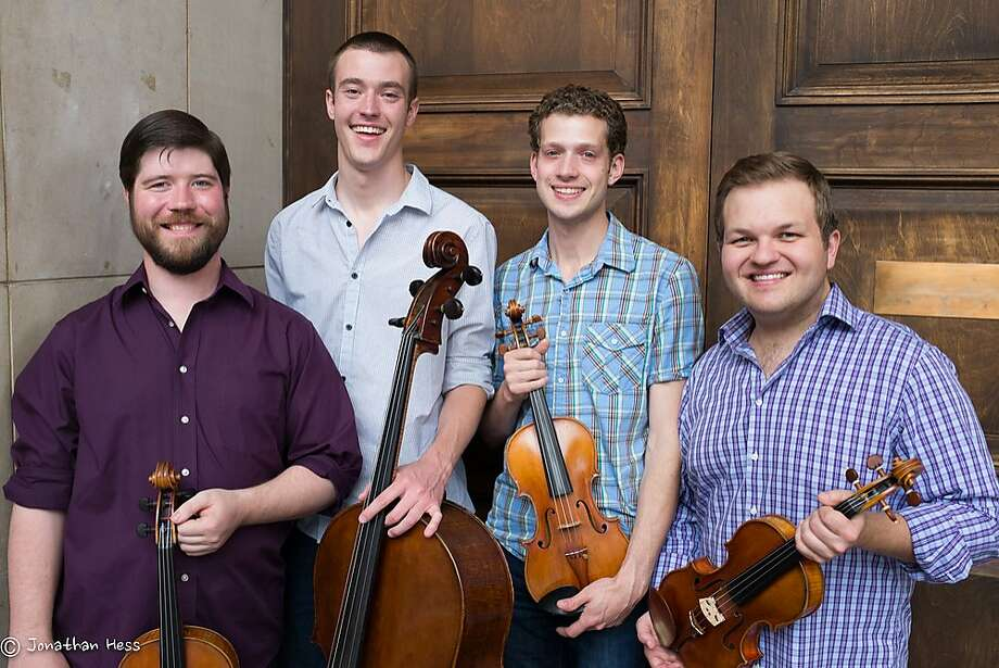 The Altius Quartet will be joined by violist Geraldine Walther. Photo: Jonathan Hess