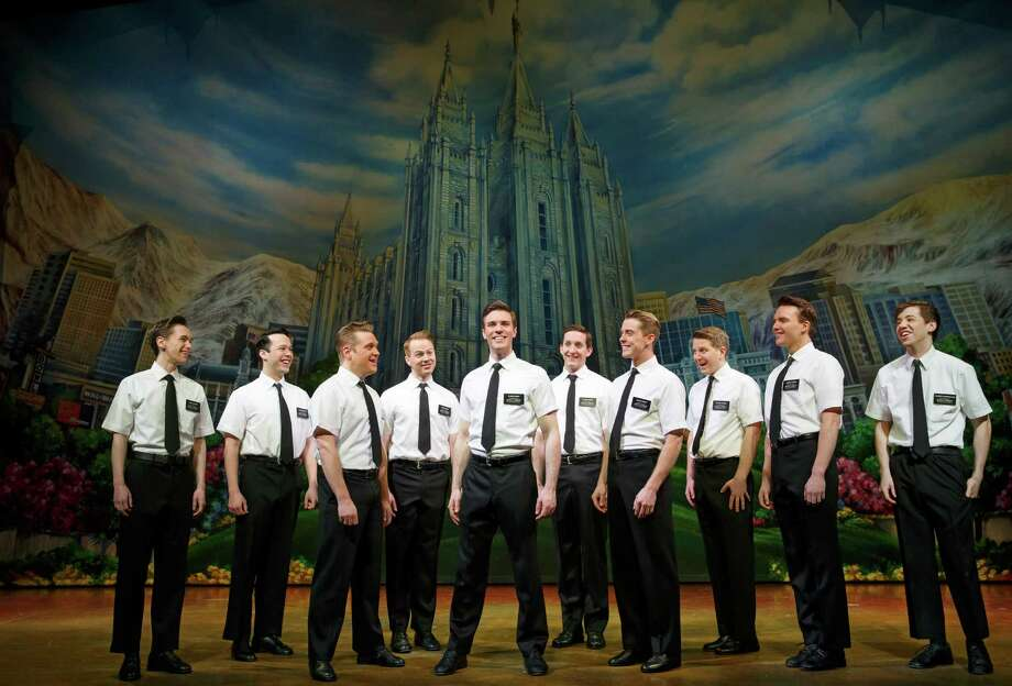 """The Book of Mormon"" is paying its second visit to the Majestic Theatre. Photo: Courtesy Joan Marcus / Courtesy Joan Marcus"