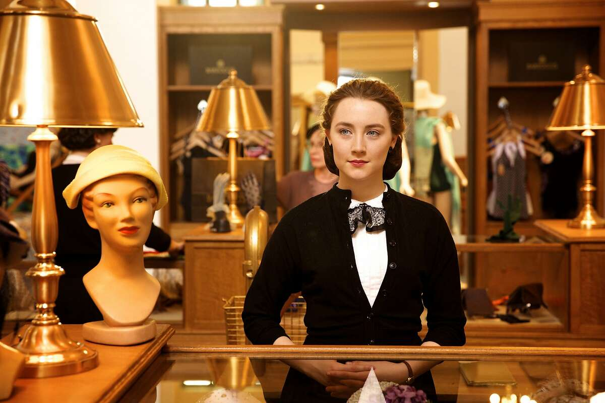 """This photo provided by Fox Searchlight shows Saoirse Ronan as Eilis in a scene from the film, """"Brooklyn."""""""