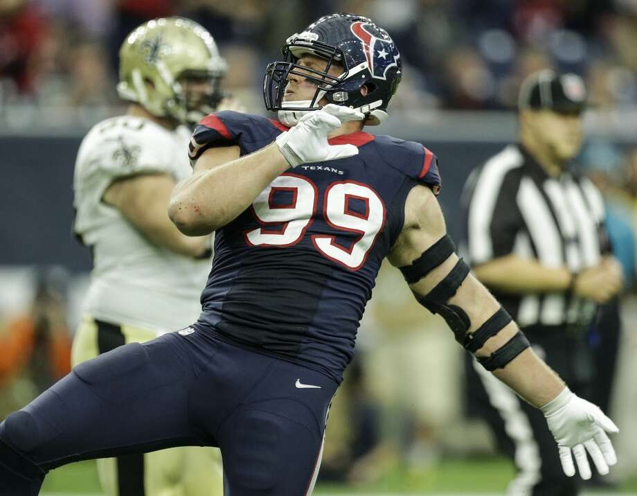 Texans star J.J. Watt's early career numbers compare quite comparably to Giants legend Lawrence Taylor's.   Click through the gallery to see if they made the cut for their franchise's best post-merger draft picks. Photo: Brett Coomer, Houston Chronicle