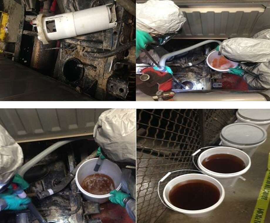 Austin police recently discovered a large load of liquid methamphetamine concealed inside a pickup truck just south of the state capital. The discovery was made on Dec. 7 during a routine traffic stop. Officials later found 50 kilos of liquid meth inside the gas tank.