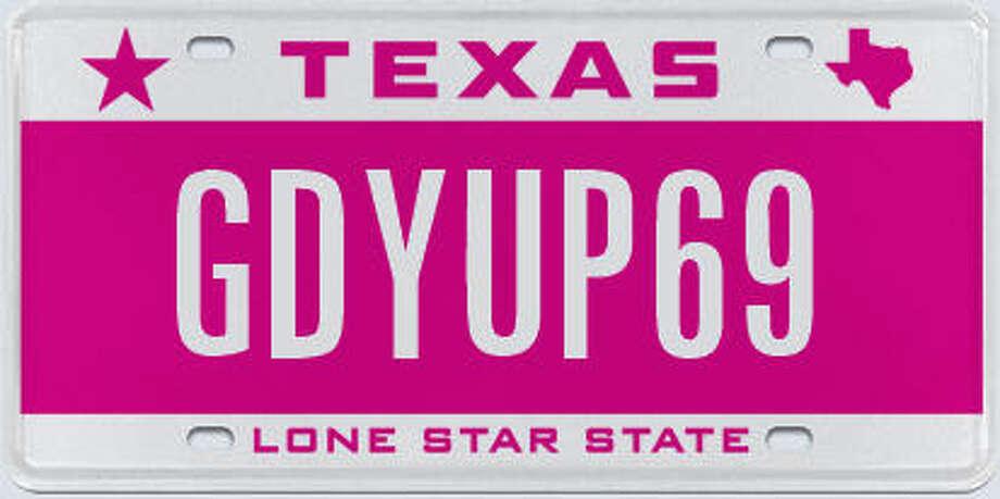 Source: Texas Department of Motor Vehicles Photo: TxDMV