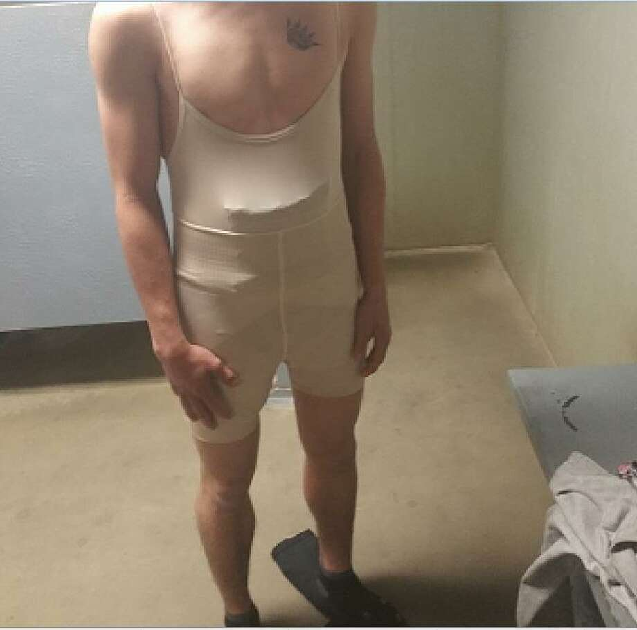 16 Year Old Used Woman S Spandex Body Suit In Heroin