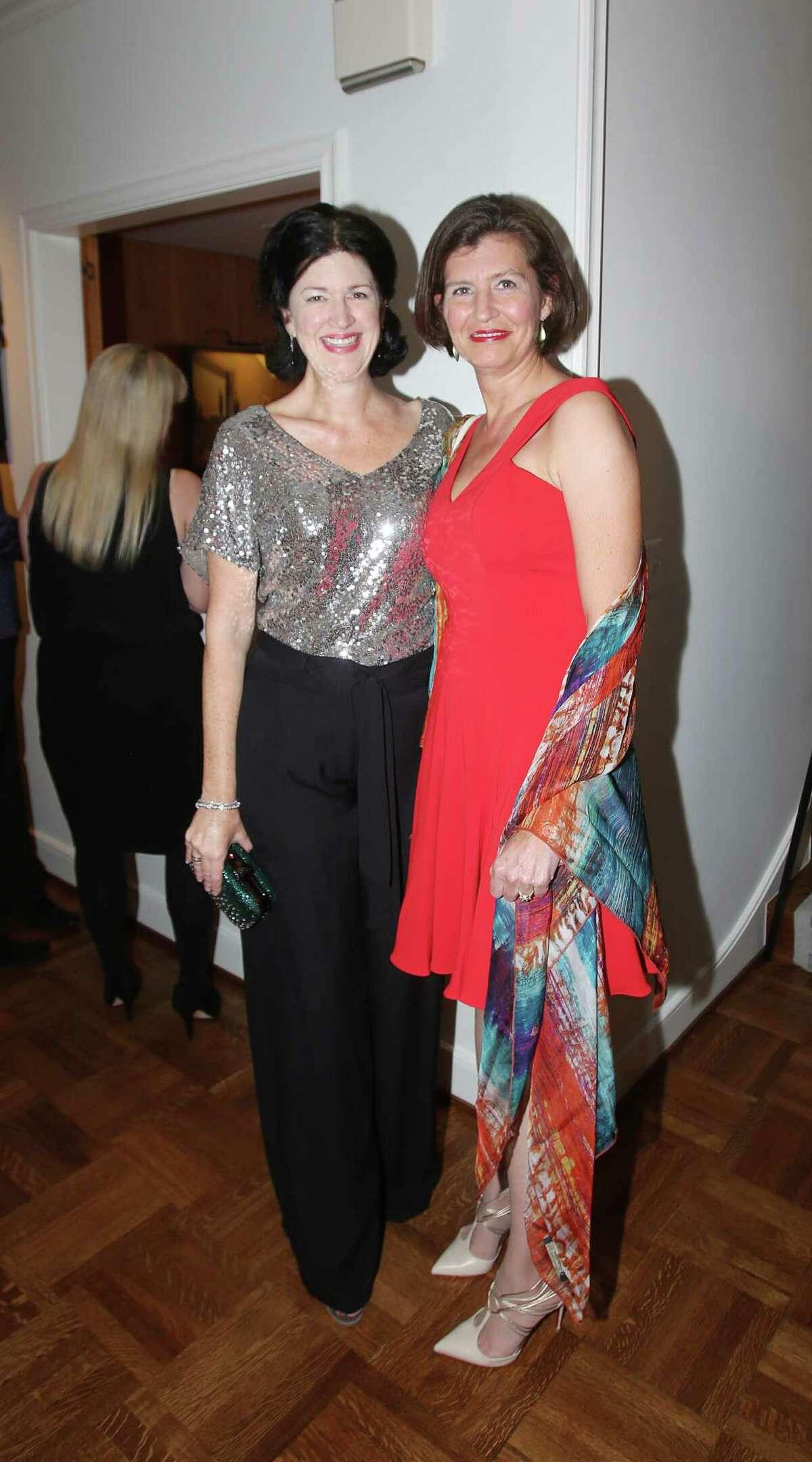 Nicola Toubia and Catherine Keen