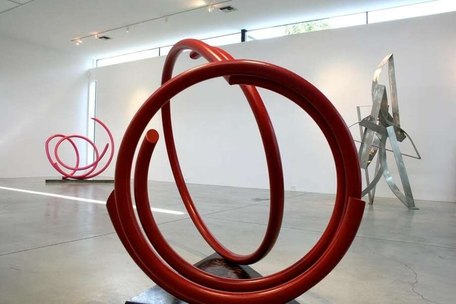 "The sculpture exhibition ""Heavy Metal"" at Gallery Sonja Roesch has been extended to Dec. 31. Photo: Gallery Sonja Roesch"