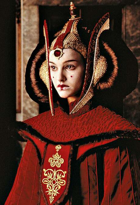 Natalie Portman as Queen Amidala. Photo: JEAN PIERI, MBR / ST. PAUL PIONEER PRESS
