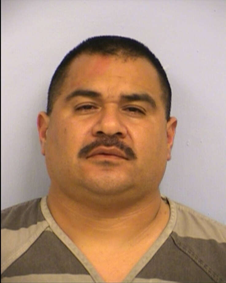 "Austin police arrested Hipolito Hinojosa Jr., a Hidalgo County sheriff's deputy, on a charge of driving while intoxicated on Thursday. Hinojosa has been placed on administrative leave without pay pending an internal investigation, Hidalgo County Sheriff J.E. ""Eddie"" Guerra said in a Facebook post. Photo: Austin Police Department"