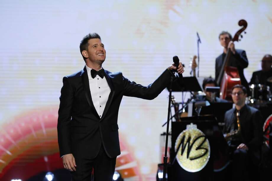 Michael Buble Photo: NBC, NBCU Photo Bank Via Getty Images