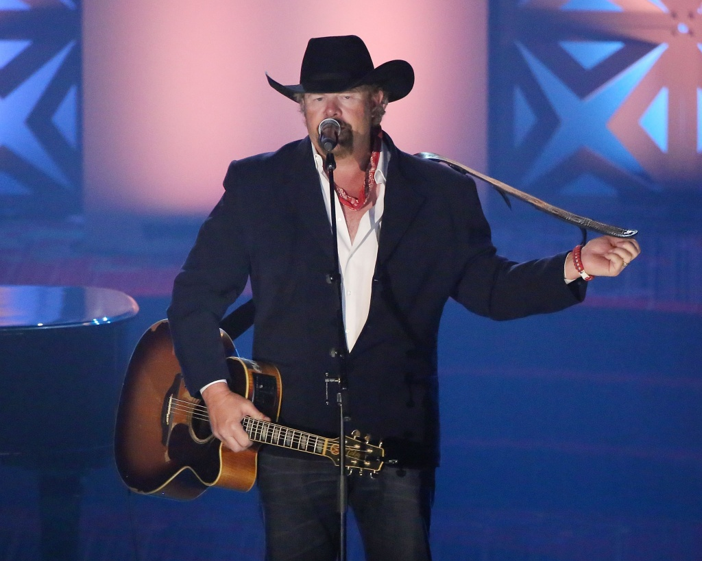 Toby Keith to headline Donald Trump's inauguration welcome celebration
