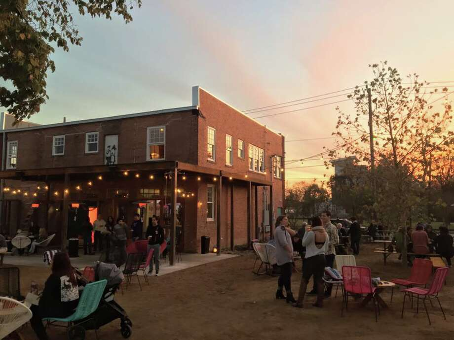 Axelrad Beer Garden opens its doors and with it its expansive