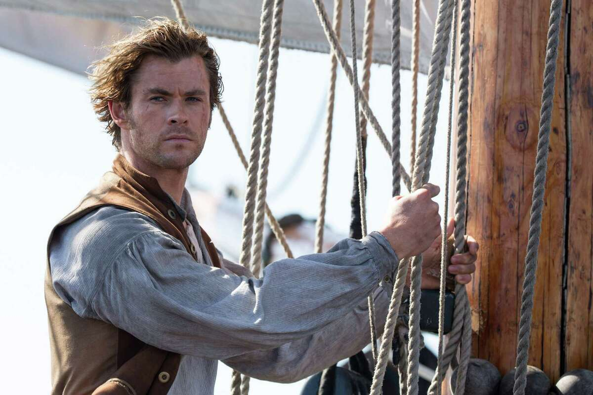 This photo provided by Warner Bros. Pictures shows Chris Hemsworth as Owen Chase in a scene from the film,