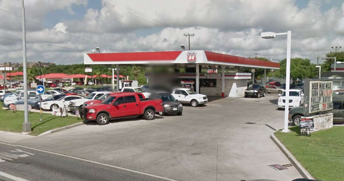 Phillips 66: 7131 Culebra, San Antonio, TX 78238Date: 12/08/2015Demerits: 14Highlights: Items found stored in hand washing sink, no hot water or paper towels at hand washing sink