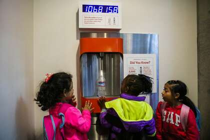 Refill stations make water the drink of choice in S F