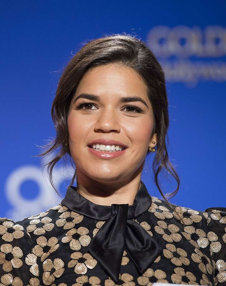 Actress America Ferrera attends the 73rd Annual Golden Globe Awards nominations in Beverly Hills, California, on December 10, 2015. AFP PHOTO /VALERIE MACONVALERIE MACON/AFP/Getty Images Photo: Valerie Macon, AFP / Getty Images