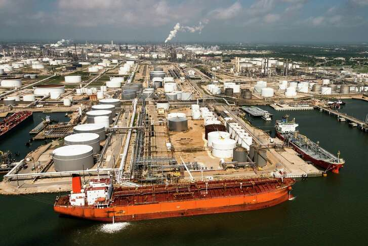 The Houston area is home to major fossil fuel companies and the nation's largest petrochemical complex. Some analysts say the industry has been too dismissive of the climate change movement.