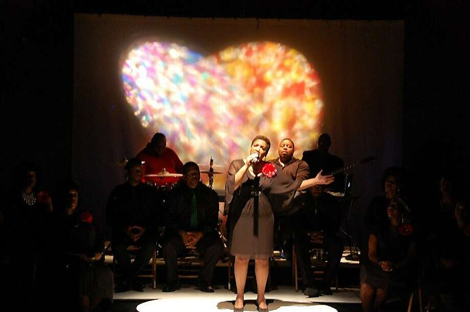 "Yvonne Cobbs leads the Lorraine Hansberry Theatre Choir in ""Soulful Christmas."" Photo: Courtesy Lorraine Hansberry Thea"