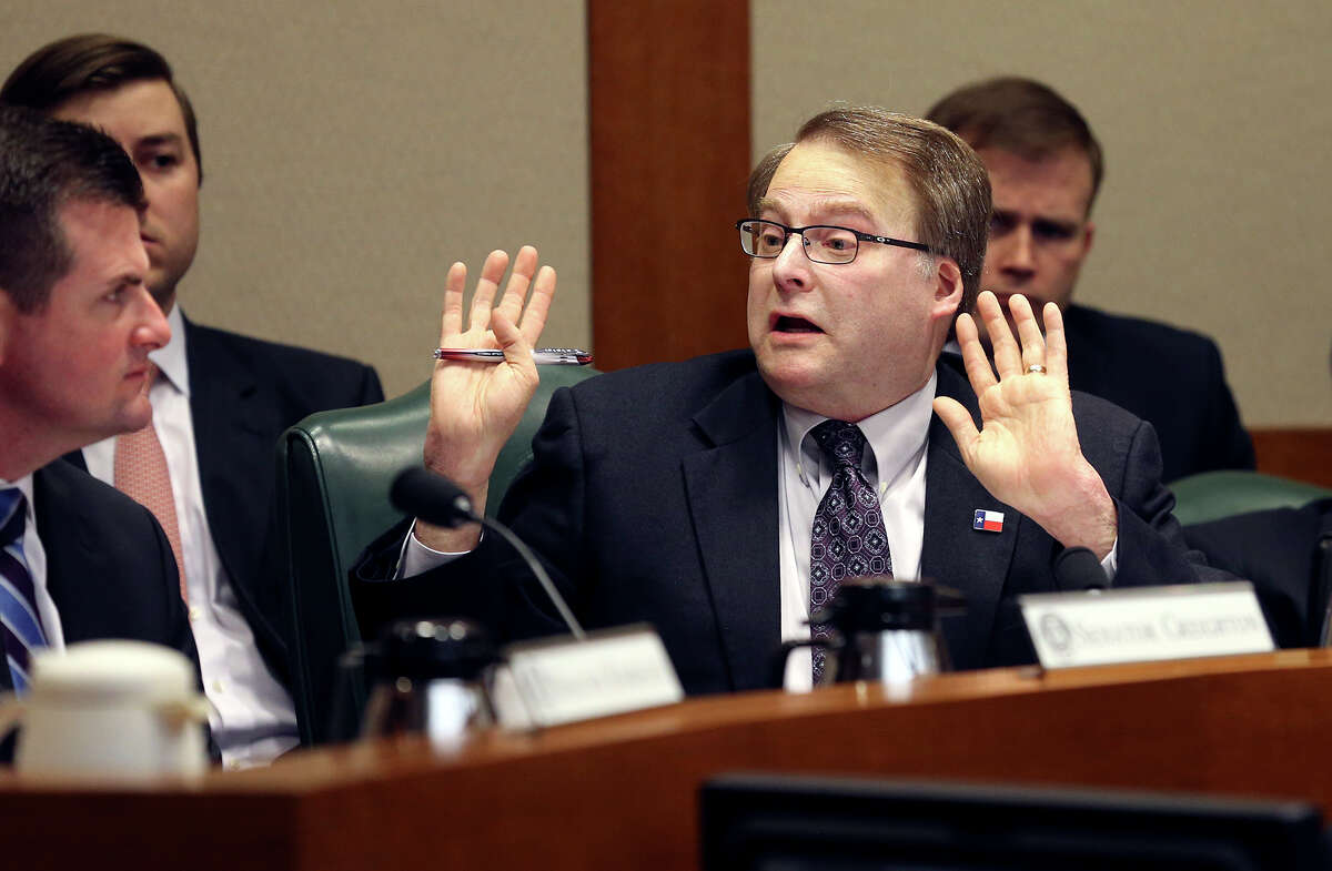 Legislation authored by State Sen. Brian Birdwellthat would allow county clerks in Texas to decline to issue same-sex marriage licenses if it conflicts with their religious beliefs was tentatively approved Tuesday by the Texas Senate. Bill 522 would allow clerks to recuse themselves from issuing a same-sex license and assign their duties to other clerks, a judge or even a special clerk. Scroll through the gallery to see a timeline of same-sex marriage in Texas