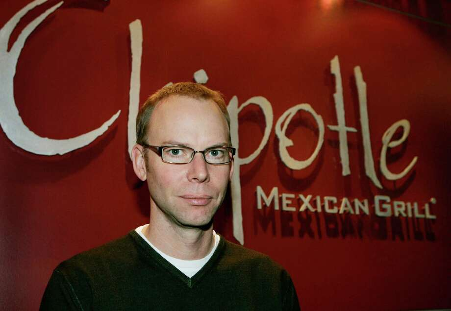 """FILE - In this Oct. 1, 2006 file photo, Steve Ells, the founder and CEO of Chipotle Mexican Grill, poses for a photograph at the company's headquarters in Denver.   Ells says he is """"deeply sorry"""" about the customers who were sickened after eating at the chain in recent weeks. """"I'm sorry for the people who got sick. They're having a tough time and I feel terrible about that,"""" Ells said in an interview on NBC's Today show, Thursday, Dec. 10, 2015. (AP Photo/Ed Andrieski, file) Photo: ED ANDRIESKI, STF / ap"""