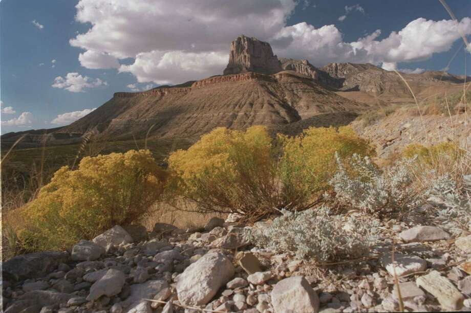 The famous landmark El Capitan rises above the Guadalupe Mountains National Park. The EPA announced a plan to reduce chemical haze at the park and other sites in Texas. Gov. Greg Abbott said the plan is too costly. Photo: E. Joseph Deering, Staff / Houston Chronicle