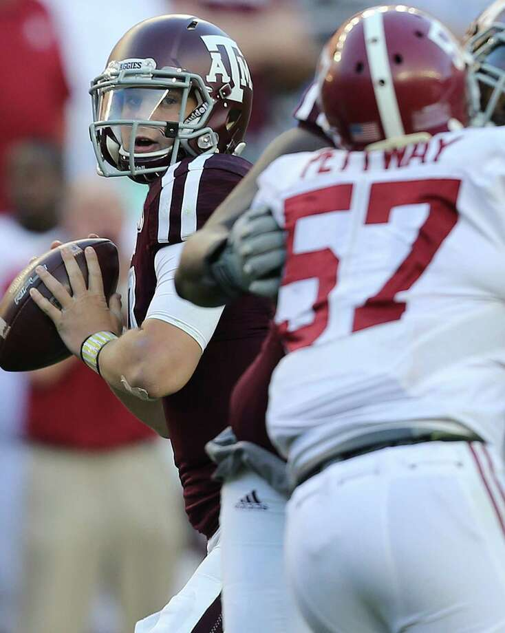 """Kyle Allen perceived an """"I can do whatever the hell I want"""" culture in his two seasons at A&M. Photo: Elizabeth Conley, Staff / © 2015 Houston Chronicle"""