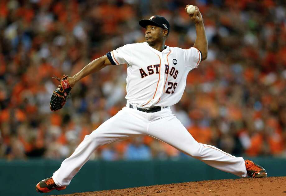 Tony Sipp was a reliable reliever for the Astros in 2014, going 3-4 with a 1.99 ERA in 60 appearances. Photo: Karen Warren, Staff / © 2015 Houston Chronicle