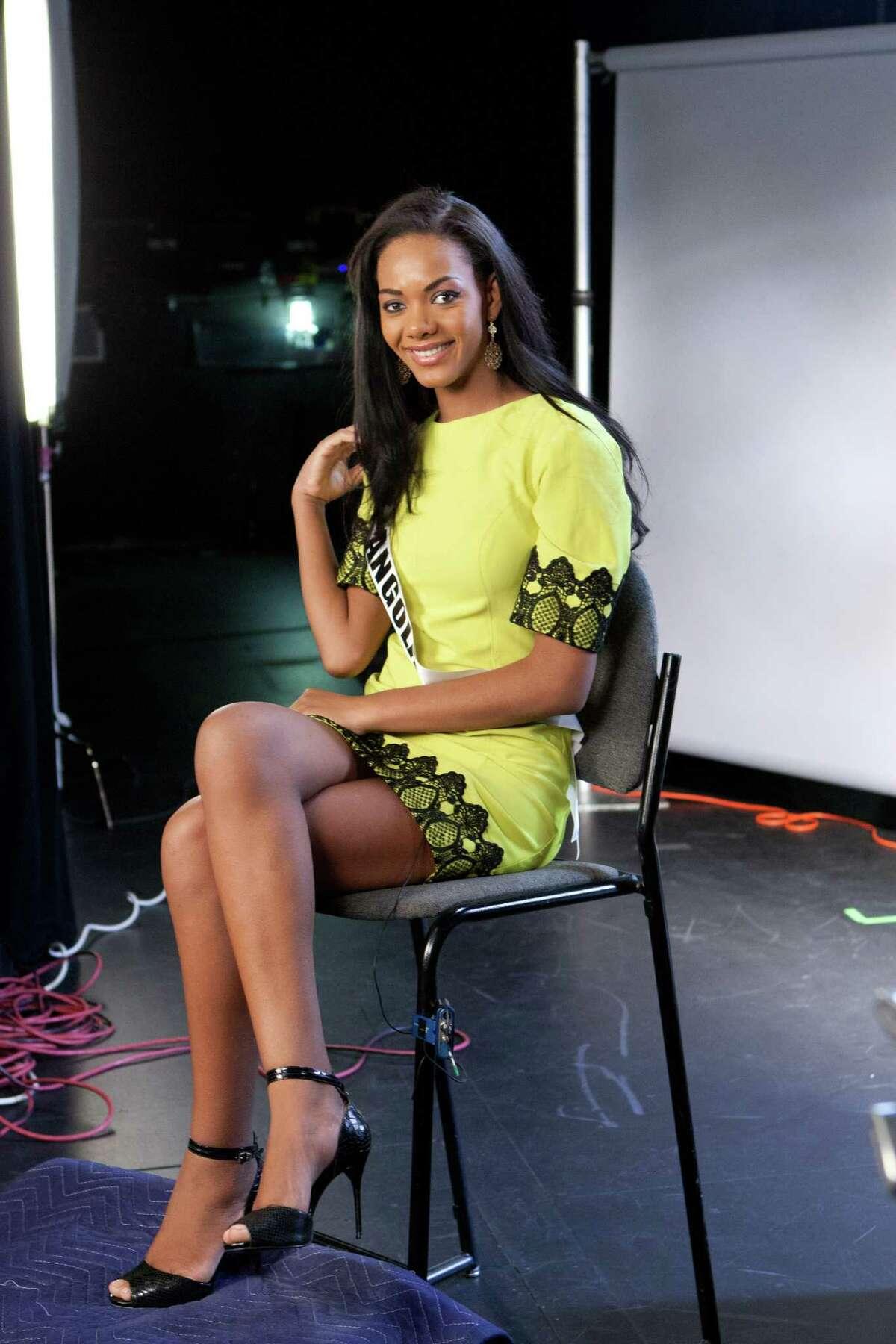 Whitney Houston A. Shikongo, Miss Angola 2015