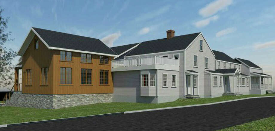 An architectural rendering of the plan by Chabad Lubavitch of Westport to expand on its Newtown Turnpike property, formerly the home of the Three Bears Restaurant. Photo: Contributed / Contributed Photo / Westport News