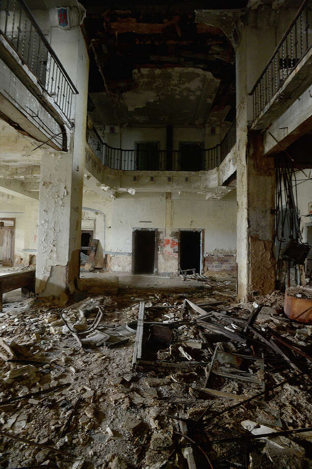 The Old Hotel Sabine Is Among Port Arthur Abandoned And Deteriorating Commercial Properties Which
