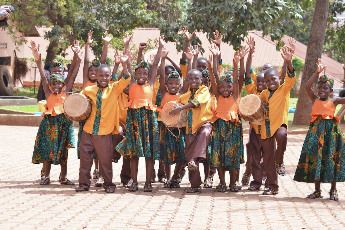 Traditional spirituals and gospel favorites will fill the air when the African Children's Choir performs four concerts at Ecclesia Church.