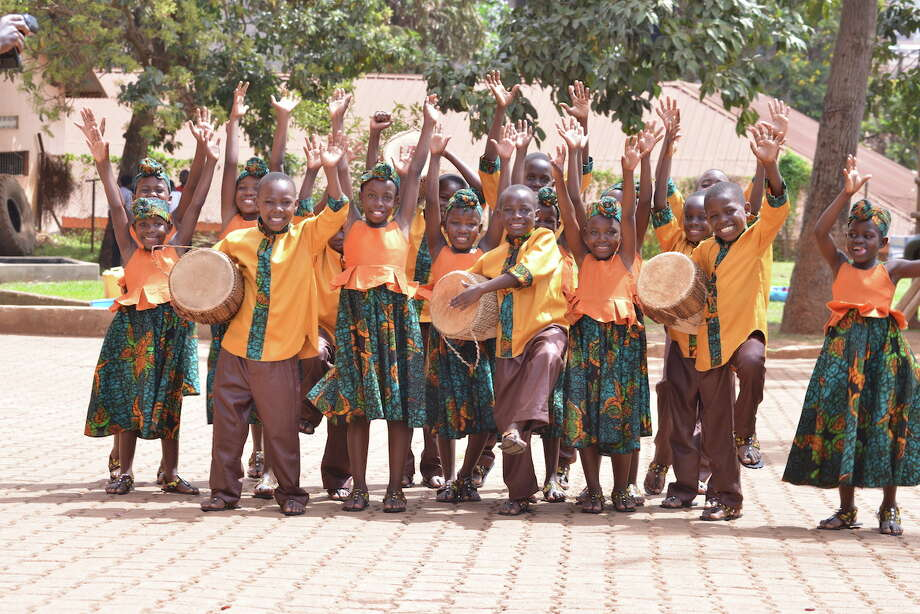 Traditional spirituals and gospel favorites will fill the air when the African Children's Choir performs four concerts at Ecclesia Church. Photo: Courtesy Photo / DevinePhotography2014